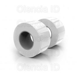 Etiquettes en bobine PP Transparent brillant - Mandrin 50,8 mm - imprimante jet d'encre