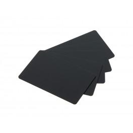 Carte PVC 86x54 mm noire mate