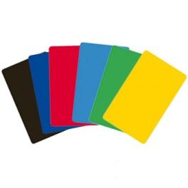 Carte couleur plastique laminé 0,76mm lot de 500 cartes